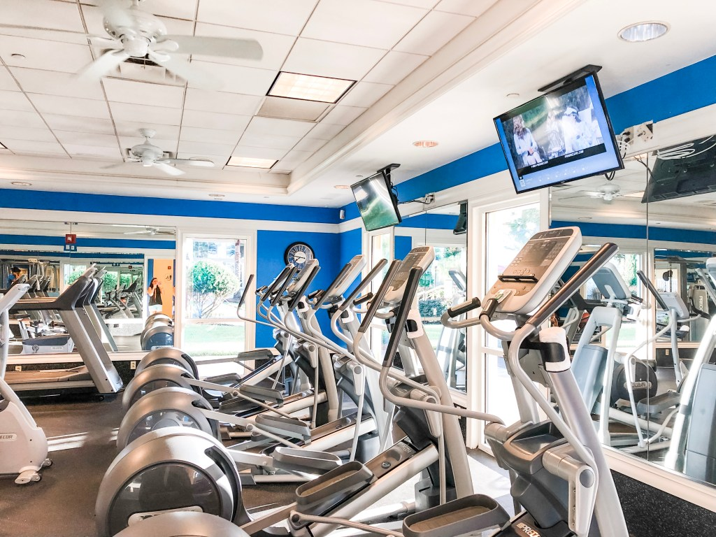 Gym at Wyndham Orlando Resort International Drive
