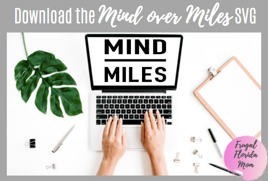 Mind Over Miles SVG