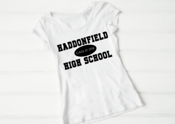 Haddonfield High School SVG - Classic Horror Movie Inspired Shirt Design