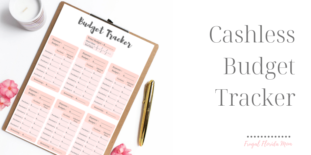 Super Easy Alternative To The Cash Envelope Budget System With Free Printable Budget Tracker