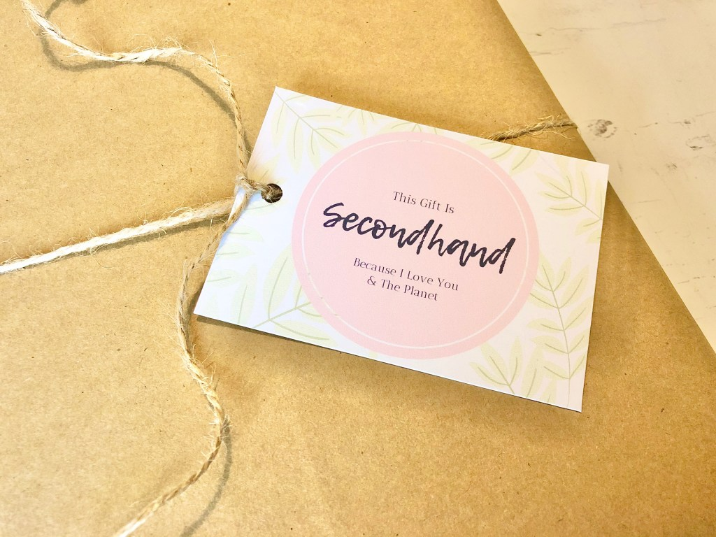 Finding and Gifting Secondhand Treasures