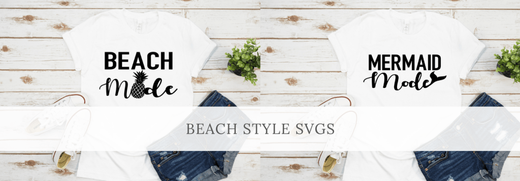 Beach Style SVG Files