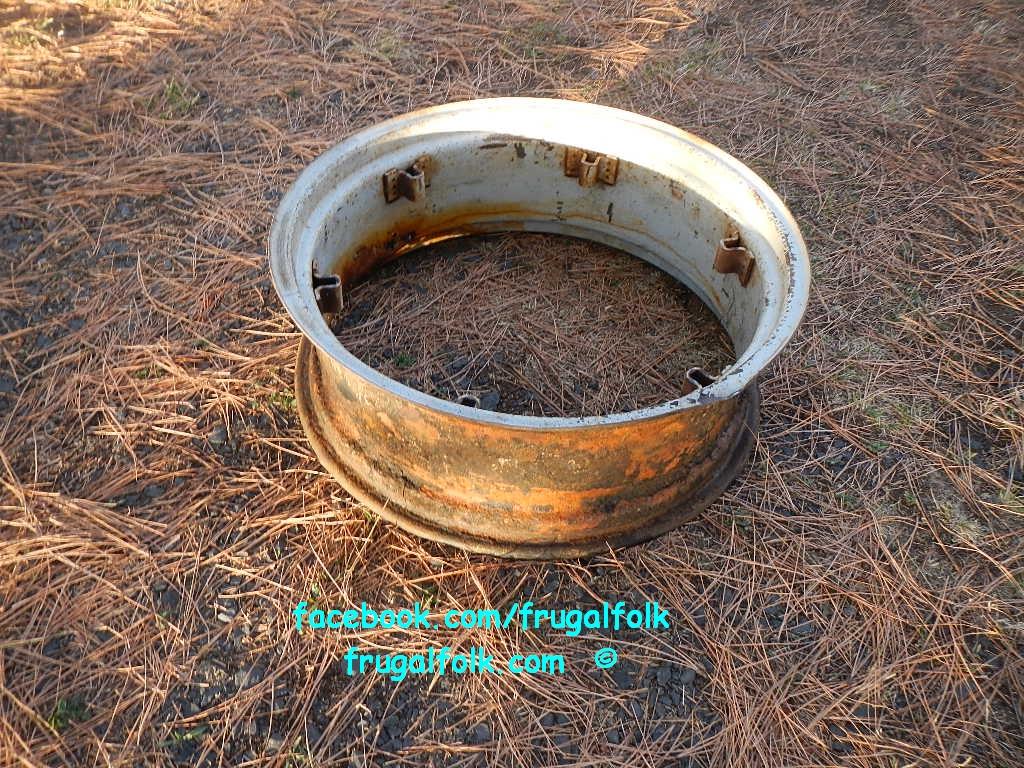 Fire Pit Ring  wwwfrugalfolkcomwwwfrugalfolkcom