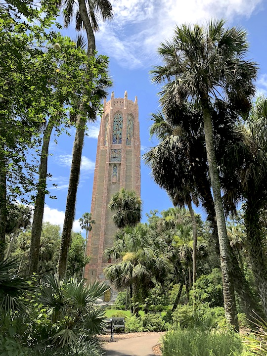 Bok Tower from Garden