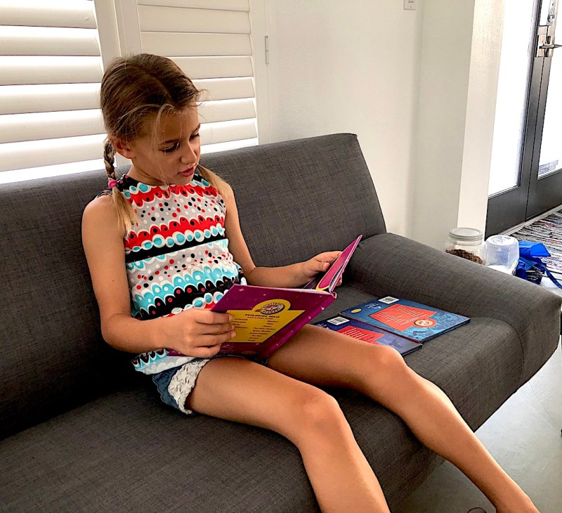 It is important to keep reading with your child, even once he knows how to read