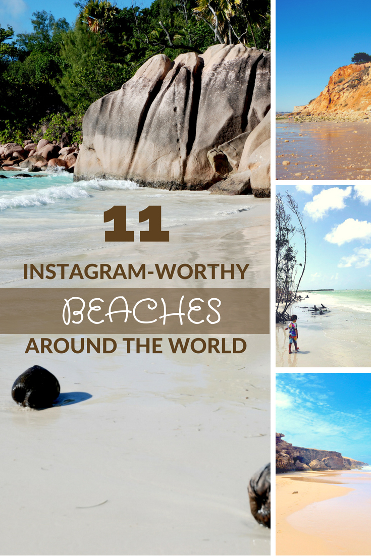 11 Instagram-Worthy Beaches Around the World #Beach #BeachTravel #WorldBeaches #EuropeanBEaches #IndianOcean #BestBeach #InternationalBeach