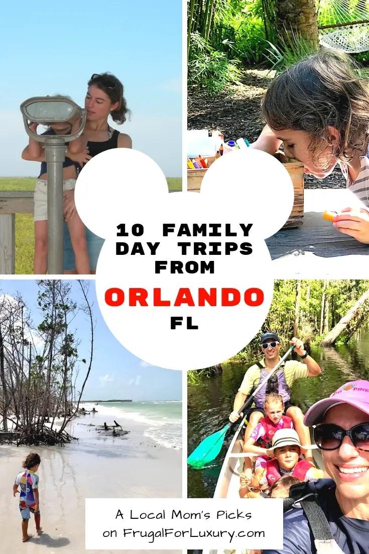 10 Family Day Trips from Orlando, FL #Orlando #VisitOrlando #OrlandoDayTrips #DayTrips #OrlandoFun #TripsAroundOrlando #ThingstoDoinOrlando
