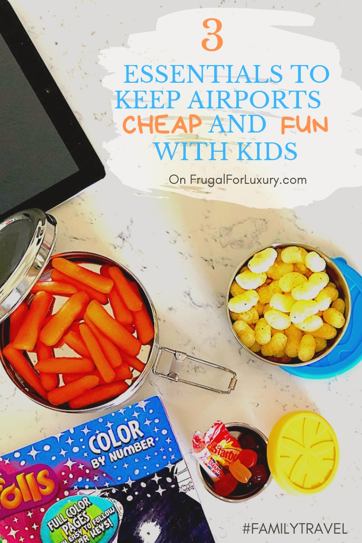 3 Things We Always Bring On Family Trips To Keep The Airport Experience Cheap And Fun #airport #familytravel #frugaltravel #traveltips #funairport #airporttips #airportwithkids #makeairportsfun #cheapairports