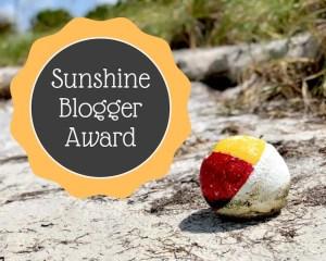 Sunshine Blogger Award #sunshinebloggeraward #bloggerrecognition #bloggingaward