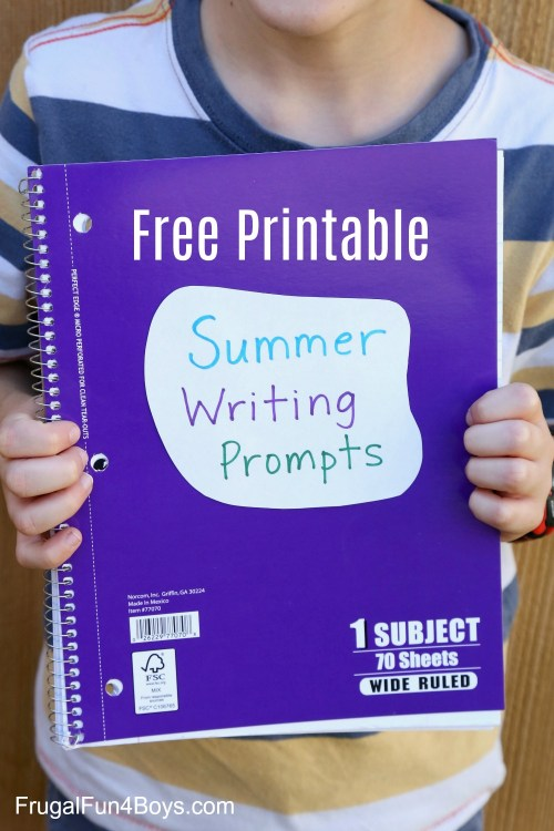 small resolution of 40 Printable Writing Prompts for 3rd