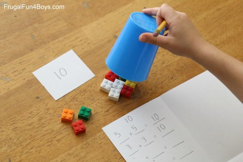 small resolution of LEGO Activities for First Grade Math - Frugal Fun For Boys and Girls
