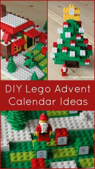 DIY Lego Advent Calendar Ideas Christmas Activity