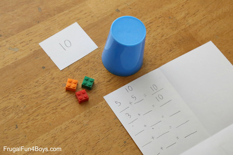 Lego Activities For First Grade Math