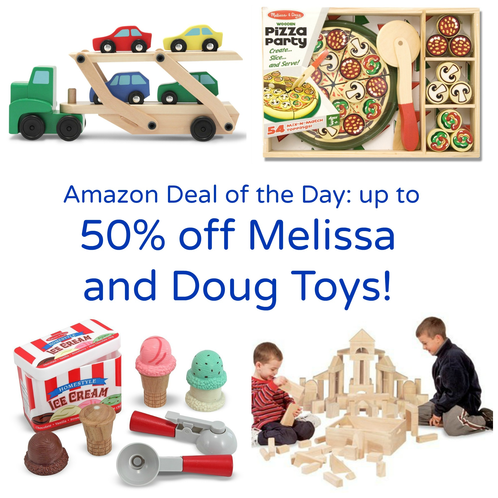Amazon Deal of the Day Up to 50 off Melissa and Doug