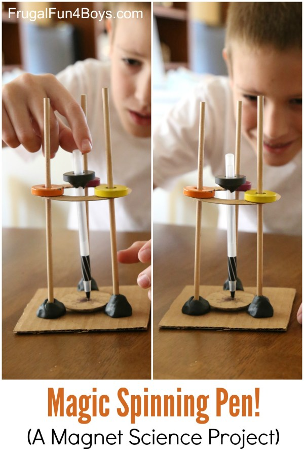 Kids Science Experiments Magnets