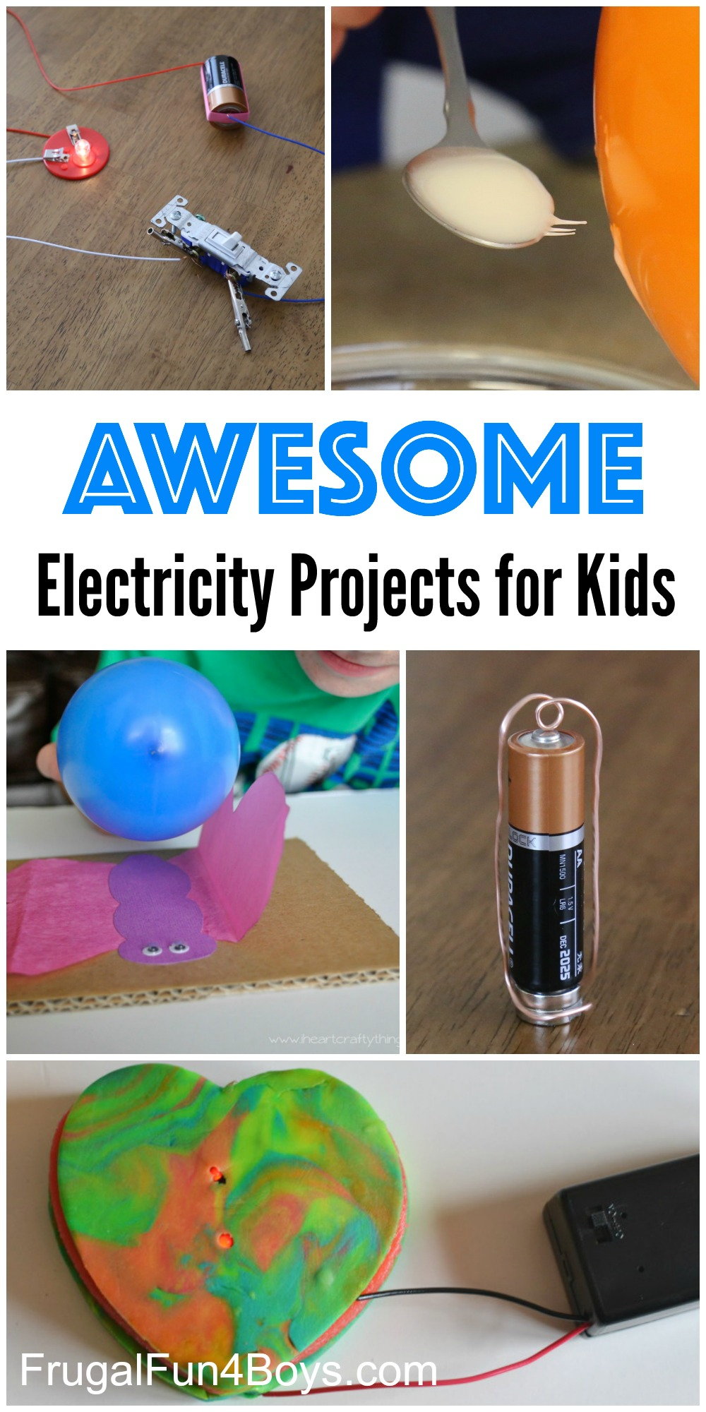 Circuit Experiments For Kids
