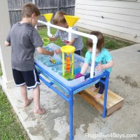 How to Make a PVC Pipe Sand and Water Table - Frugal Fun ...