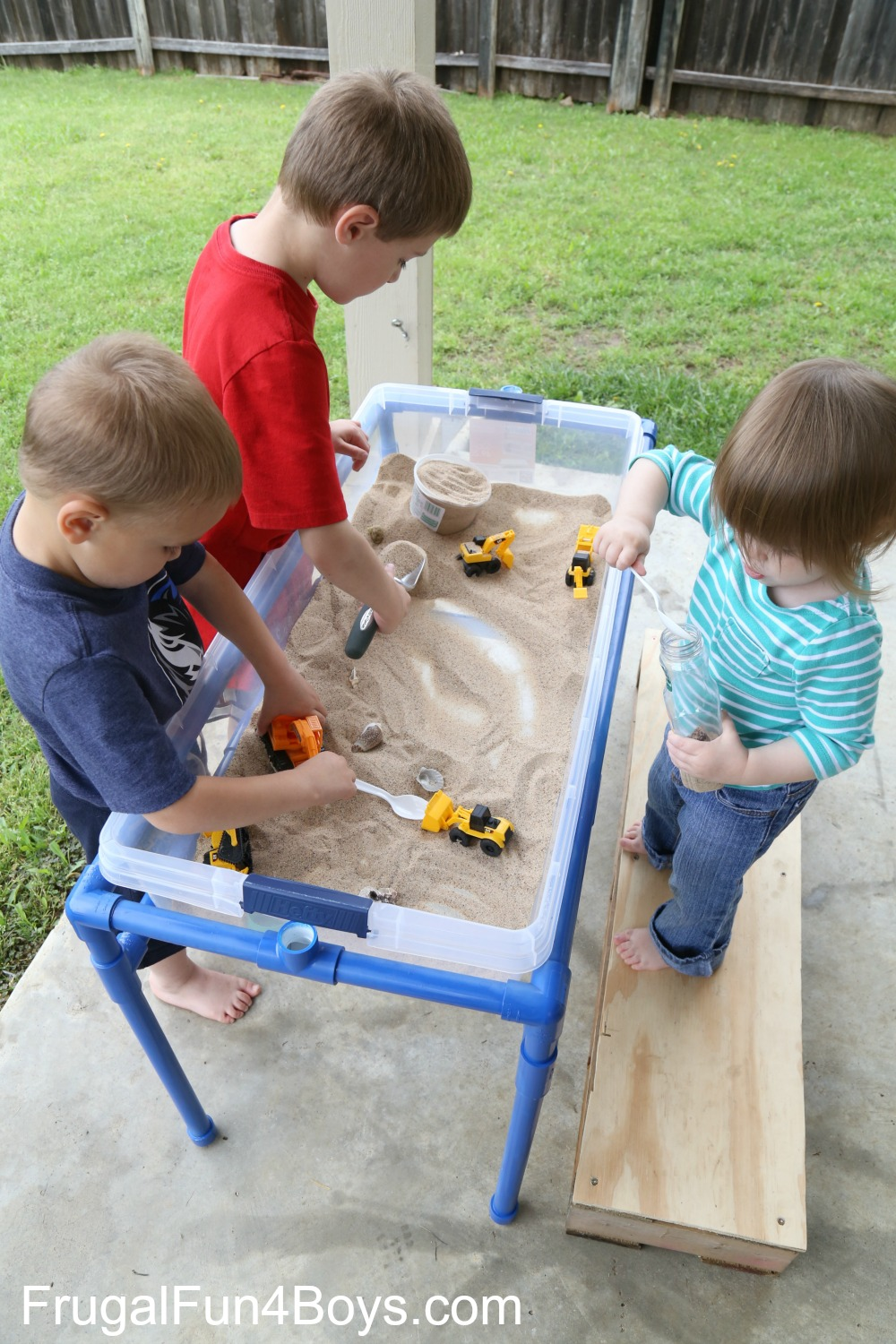 Spring Time Sensory Table Ideas Toddlers
