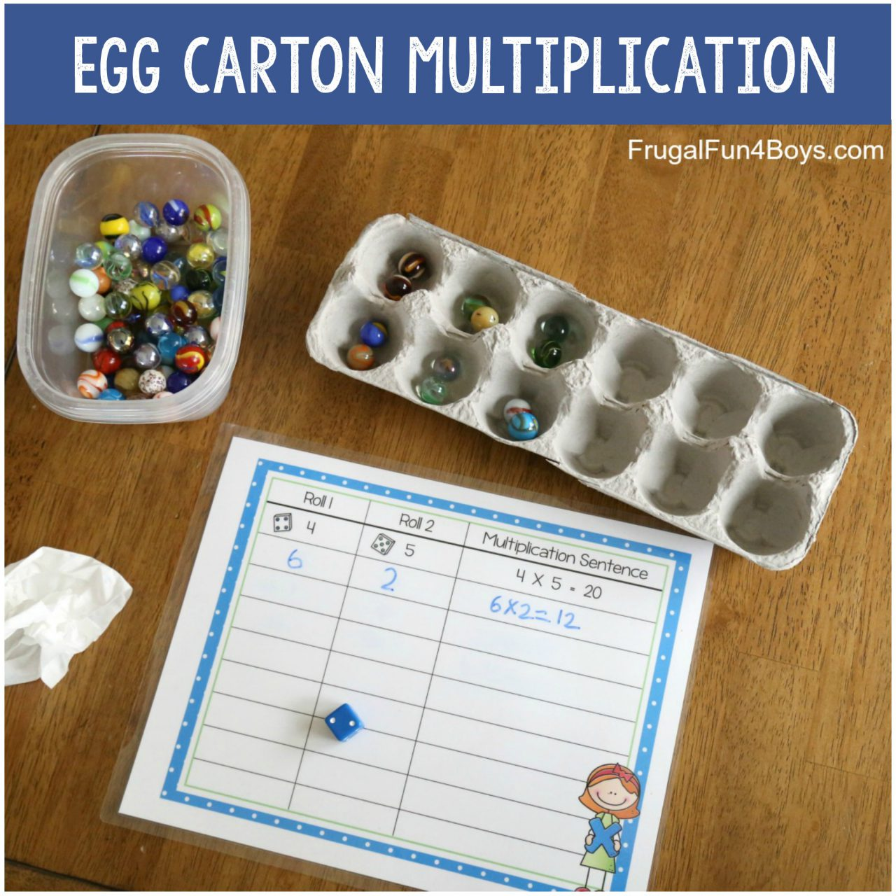 hight resolution of Hands-On Multiplication Activities - Frugal Fun For Boys and Girls