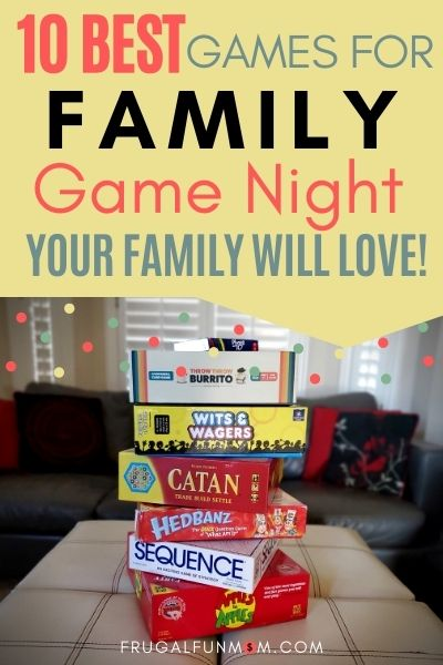 10 Best Games For Family Game Night Your Family Will Love! | Frugal Fun Mom