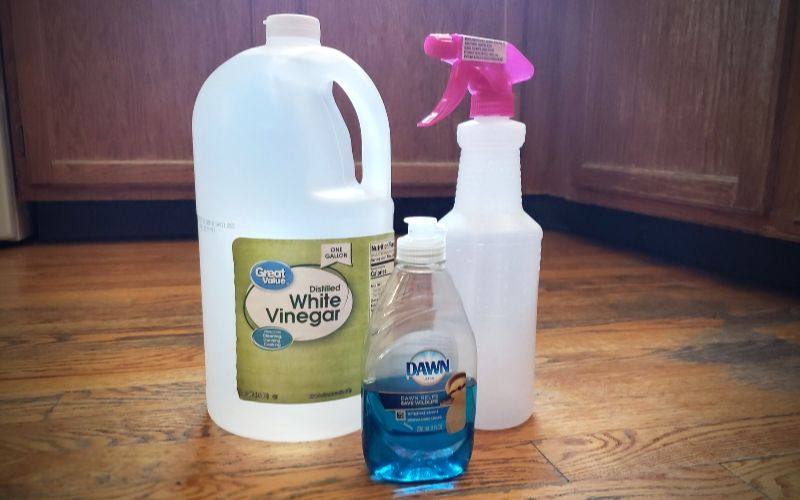 Make Your Own Pantry Staples Series: Homemade All-Purpose Cleaner | Frugal Fun Mom.  Looking for a frugal way to clean your house? I'm sharing my homemade all-purpose cleaner recipe that is simple & easy to make for a fraction of the cost!