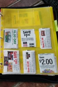 Organize Your Coupons