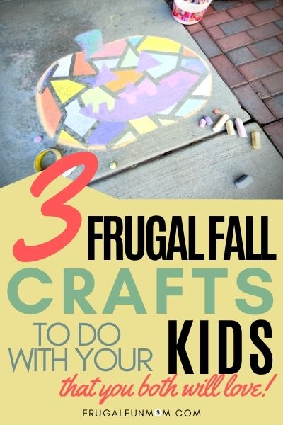 Frugal Fall Crafts To Do With Your Kids | Frugal Fall Crafts