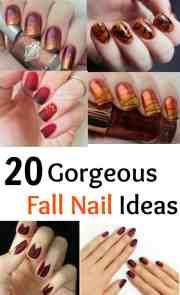 gorgeous fall nail ideas