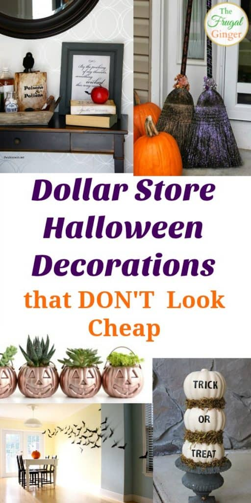 Halloween Dollar Store Decorations That Don T Look Cheap