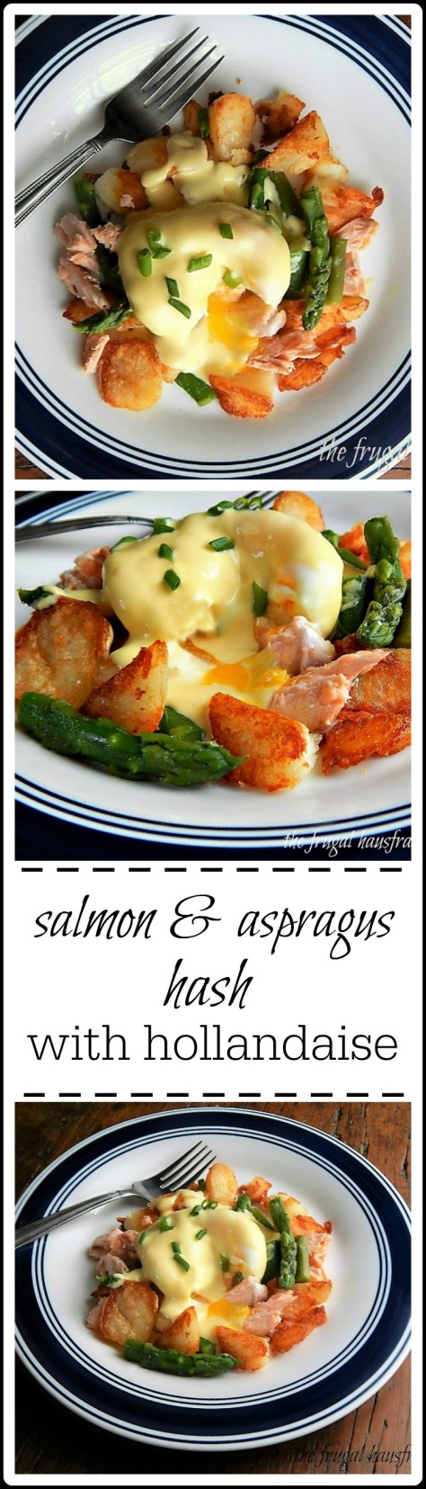 Salmon & Asparagus Hash - riffed off Tyler Florence, this is a beautiful brunch dish!