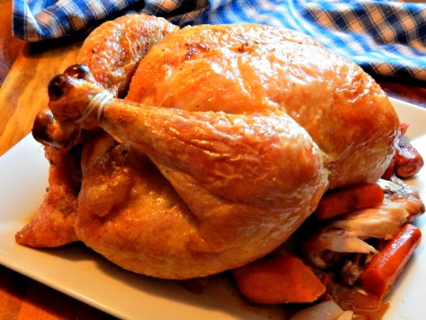 Sunday Roast Chicken, Lemon Variation for Easter