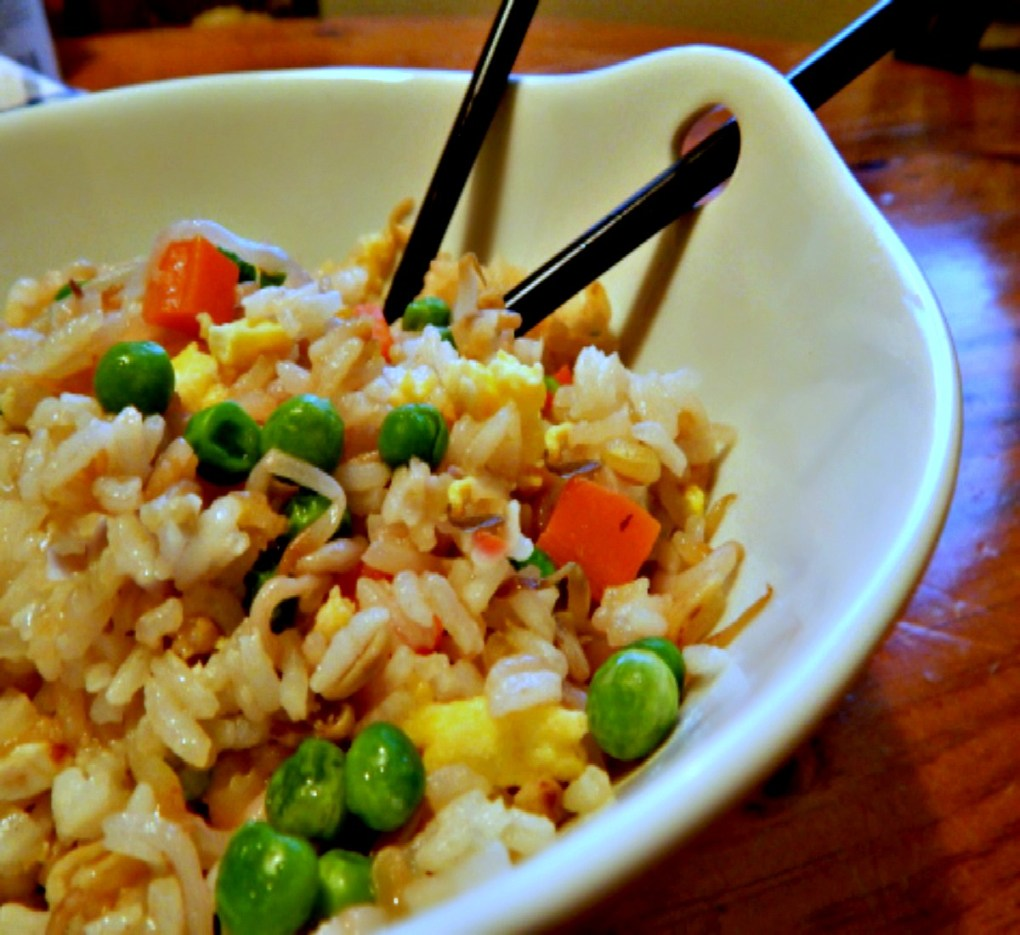 Classic Fried Rice Recipe, original photo. So sad looking but it was delish!