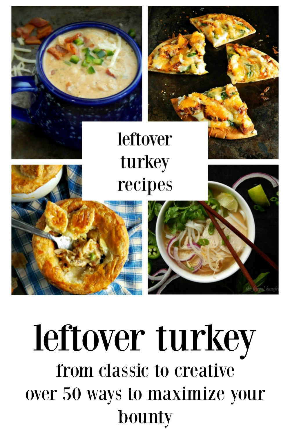 12 Days of Turkey - over 50 recipes from around the globe for your leftover turkey. From down-home to trendy you're gonna find inspiration here! #LeftoverTurkey #ThanksgivingLeftovers #HolidayLeftovers