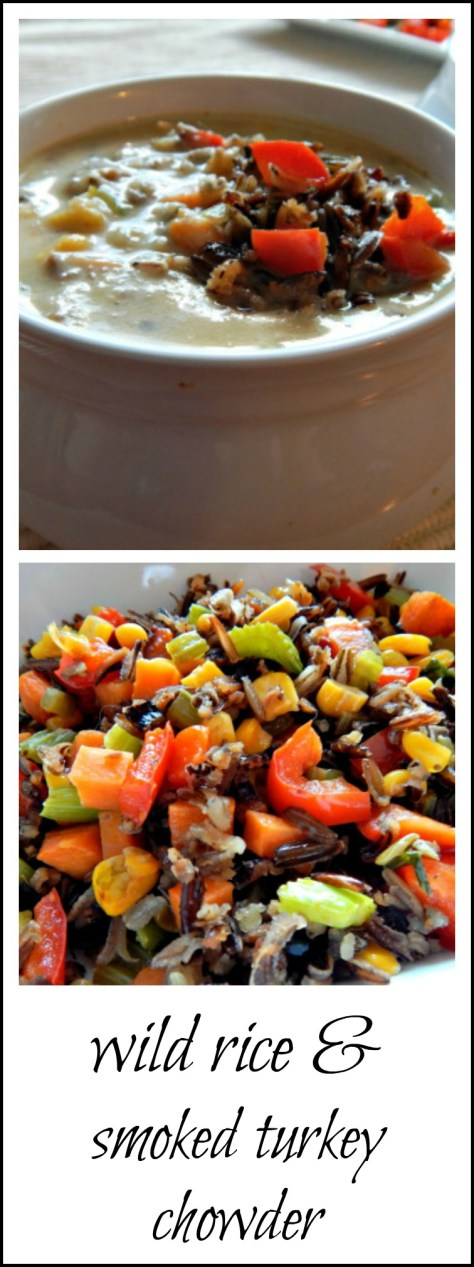 Wild Rice & Smoked Turkey Chowder - so healthy & so good an absolute family favorite!