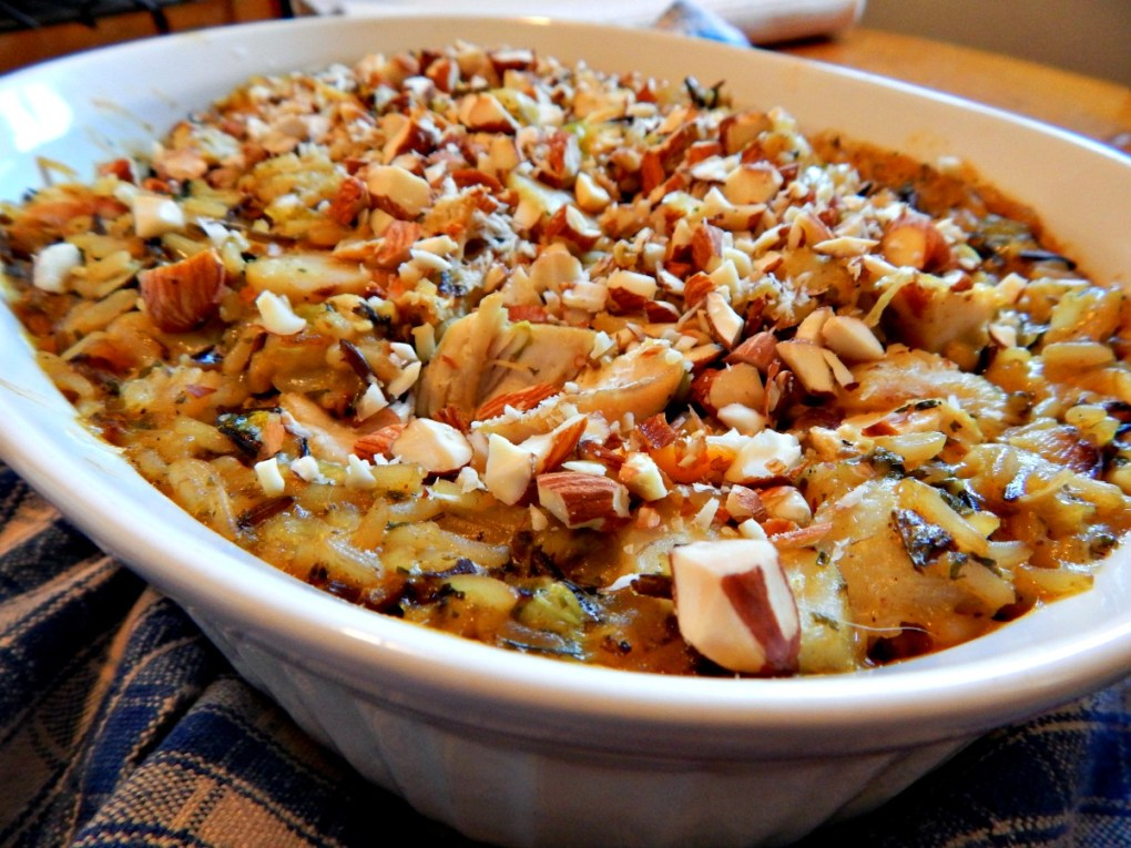 Uncle Ben's Wild Rice Casserole