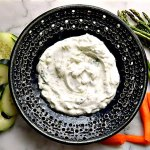 Tzatziki or Cacik, cucumber yogurt sauce
