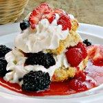 Three Berry Shortcake