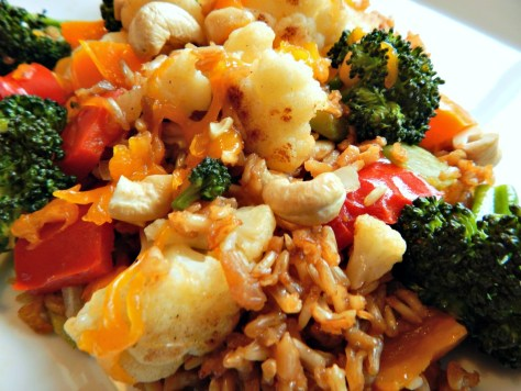 Vibrant Vegetarian Casserole with Perfect Brown Rice