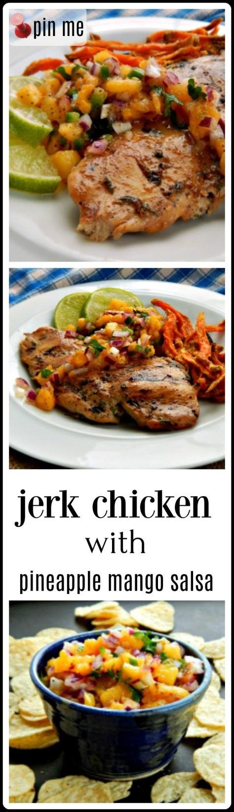 Jerk Chicken - yeah, a bottle works but whir this jerk sauce up in your blender and prepare to be amazed!