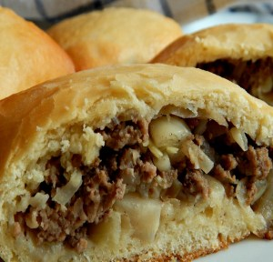 Freshly Baked Runza or Bierock