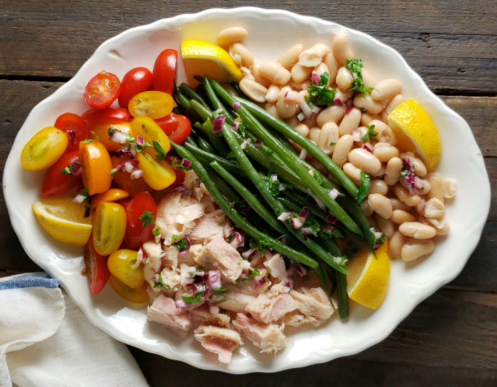 Cold Tuna Salad with Green Beans