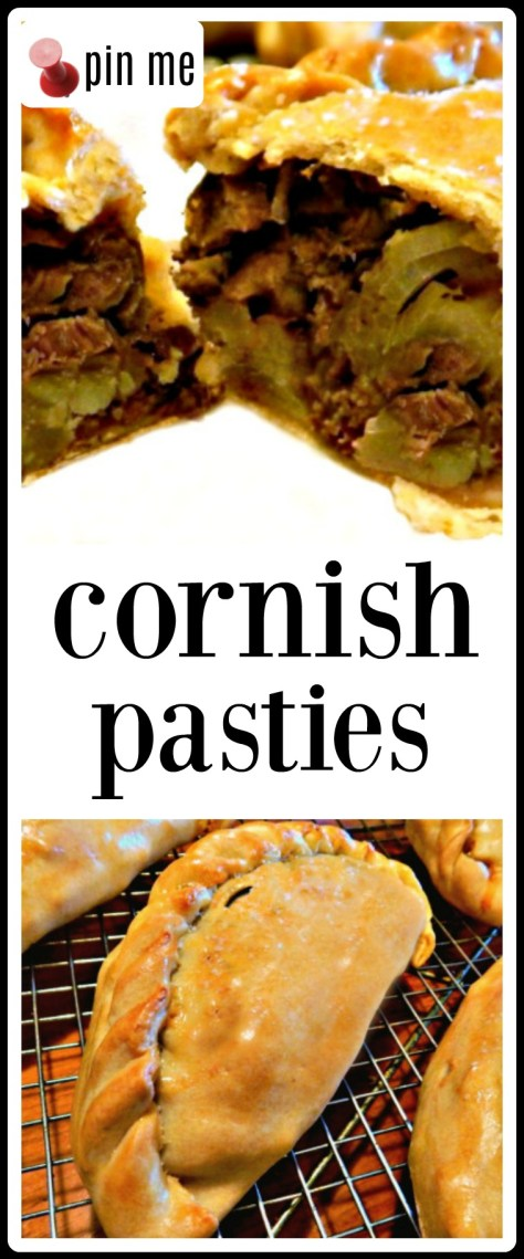 Cornish Pasties: delicious meat and potato pastries!