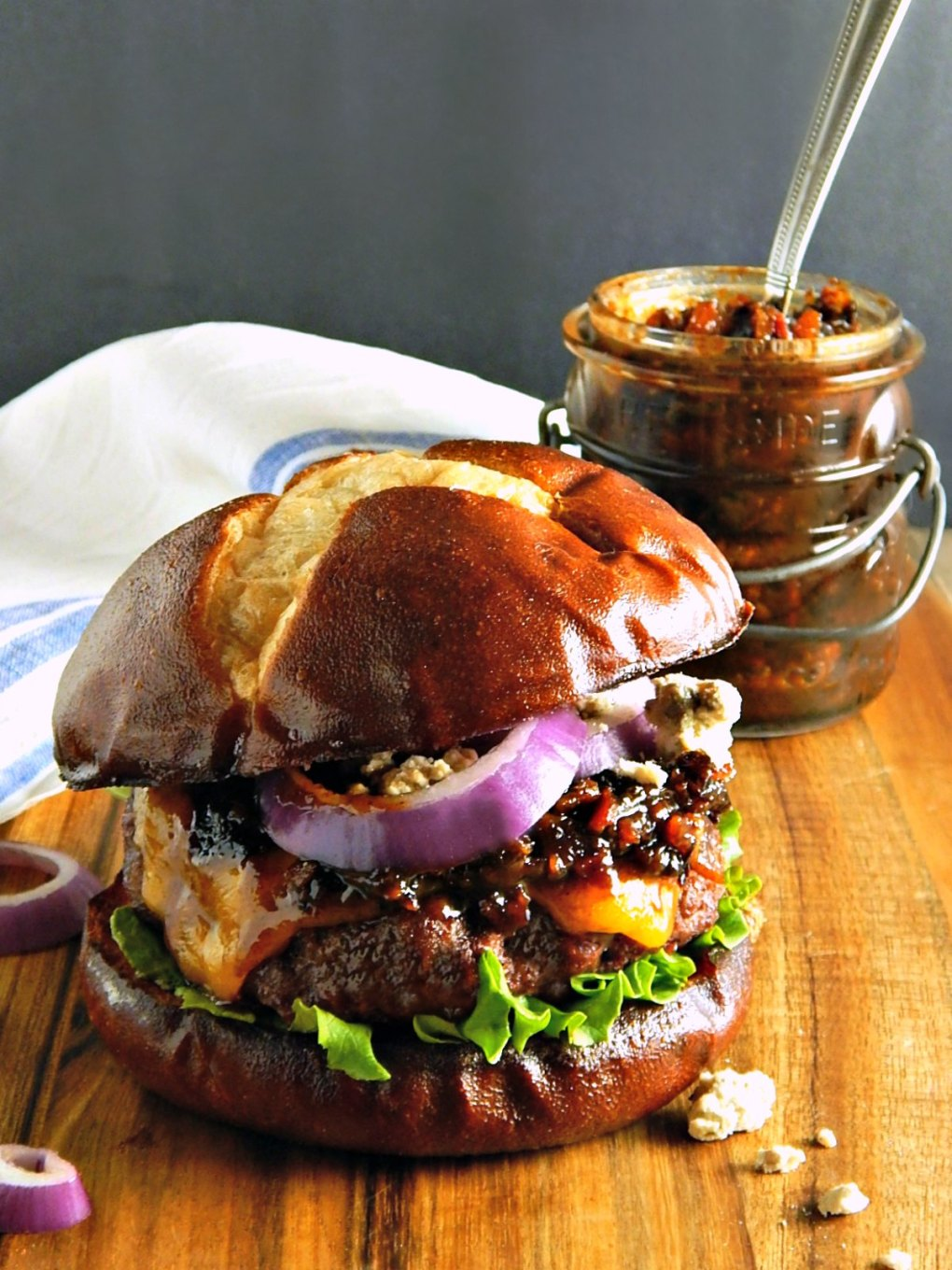 Oven Roasted Burgers