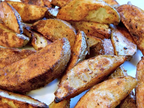 Bomb Baked Potato Wedges