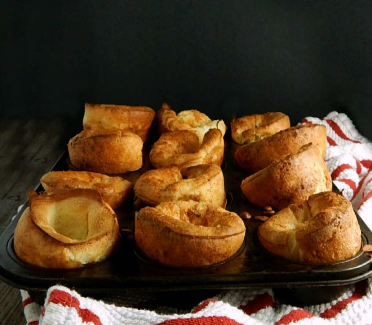Popovers In A Muffin Tin Frugal Hausfrau