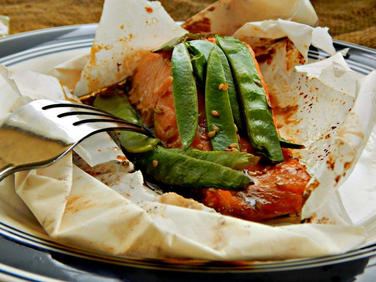 Salmonchanted Evening - Asian Salmon Packets