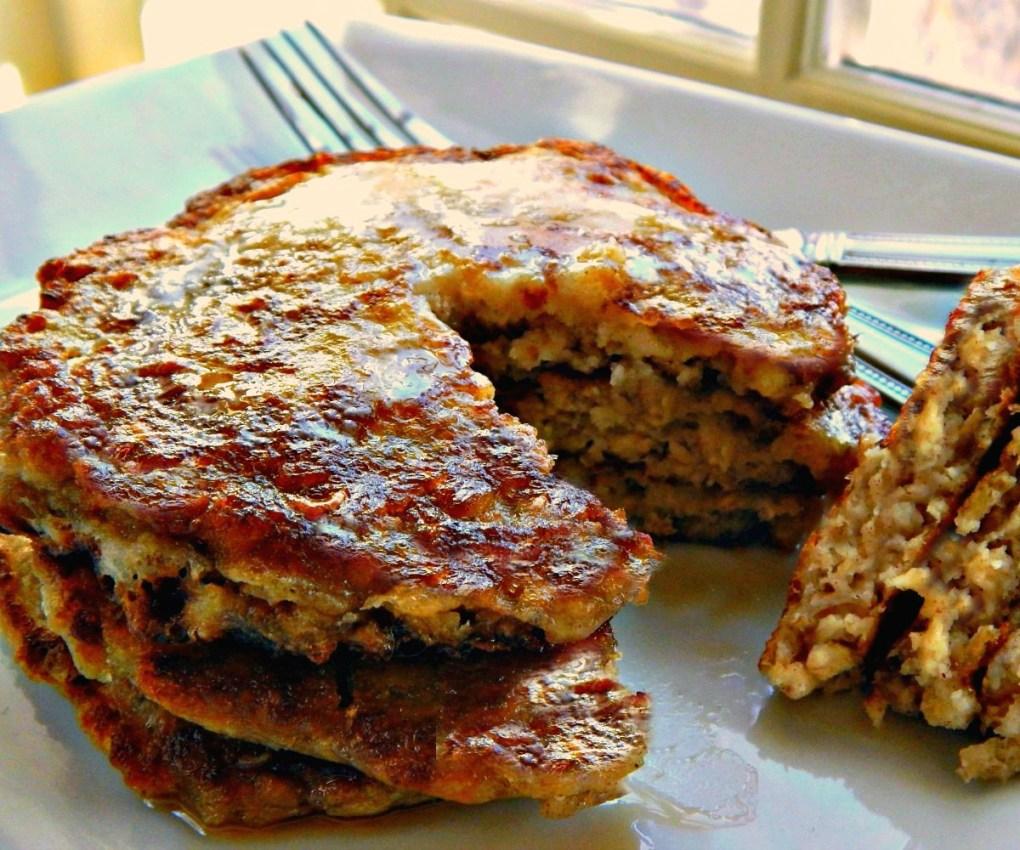 Scottish Oatcakes - Oatmeal Pancakes