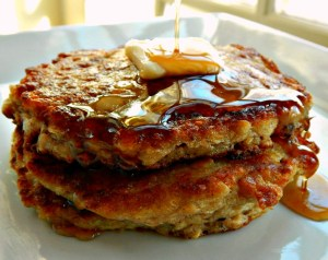 Scottish Oatcakes - Oatmeal Buttermilk Pancakes
