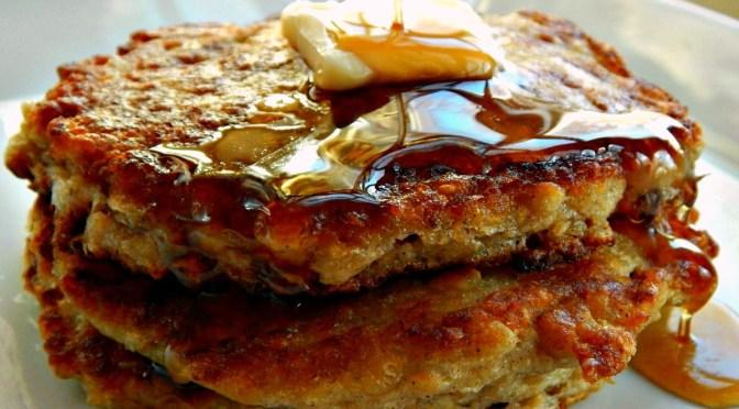 Scottish Oatcakes - Oatmeal Buttermilk Pancakes
