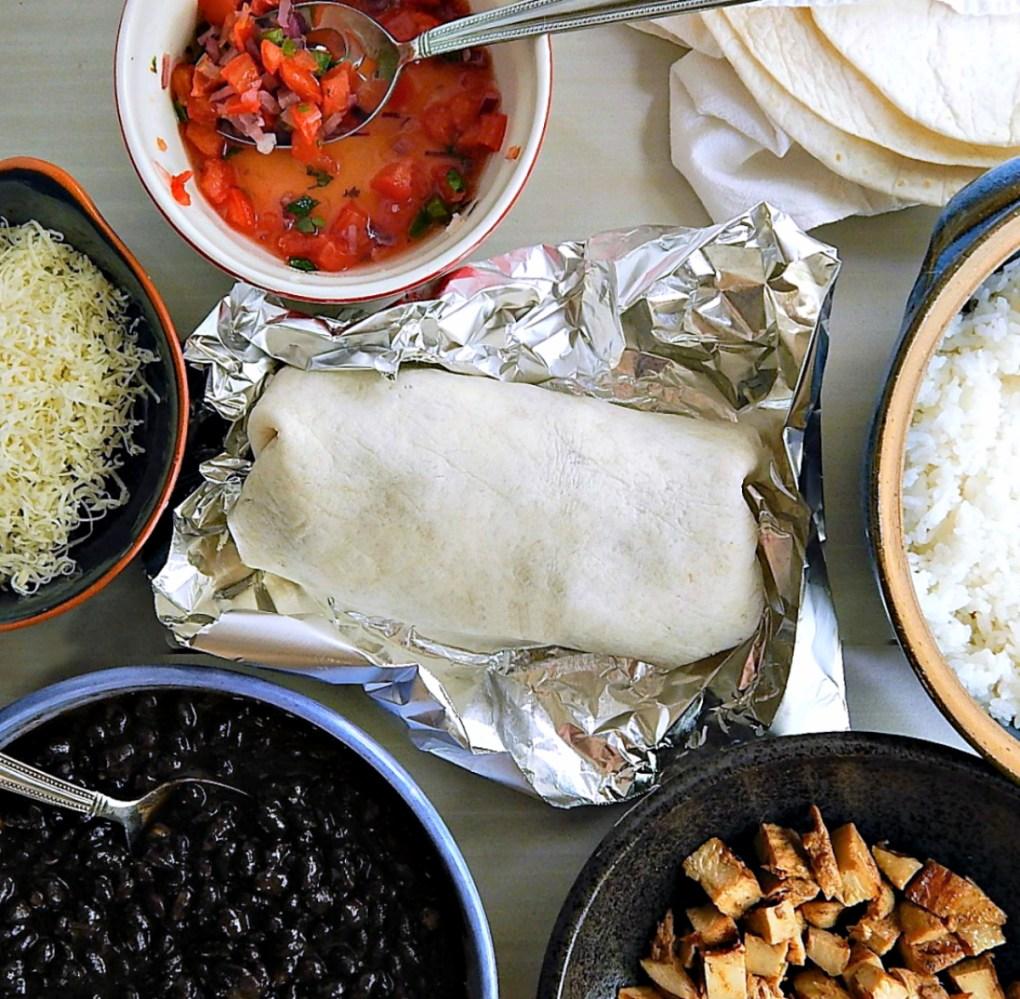 Chipotle Chicken Burrito Copycat Recipe